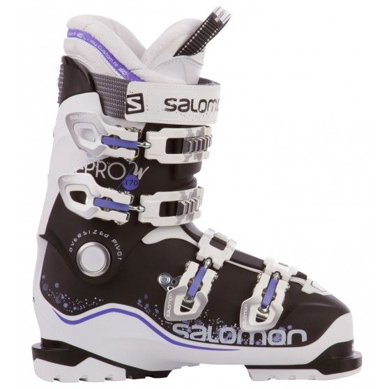 3e08e623bd1 De X Pro X70W dames #skischoenen van #Salomon brengen de bewegingen  directer over en zijn heerlijk zacht gevoerd voor optimaal draagcomfort.  #dws