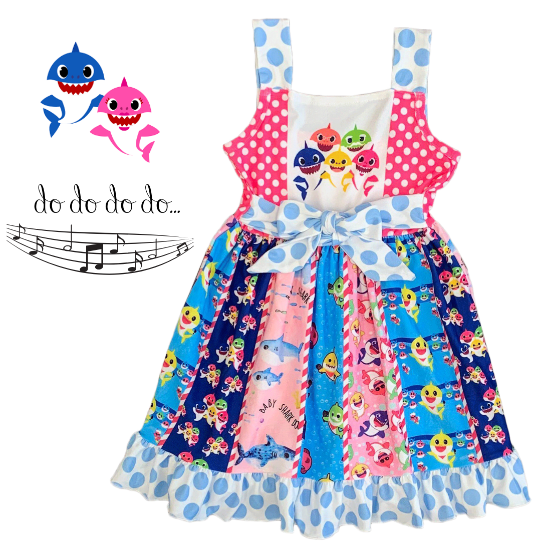 Baby Shark Dress Baby Girl Clothes Toddler Girl Fashion Girls Boutique Baby Boutique Toddler Clothing Stores Shark Dress Toddler Girl Style [ 1080 x 1080 Pixel ]