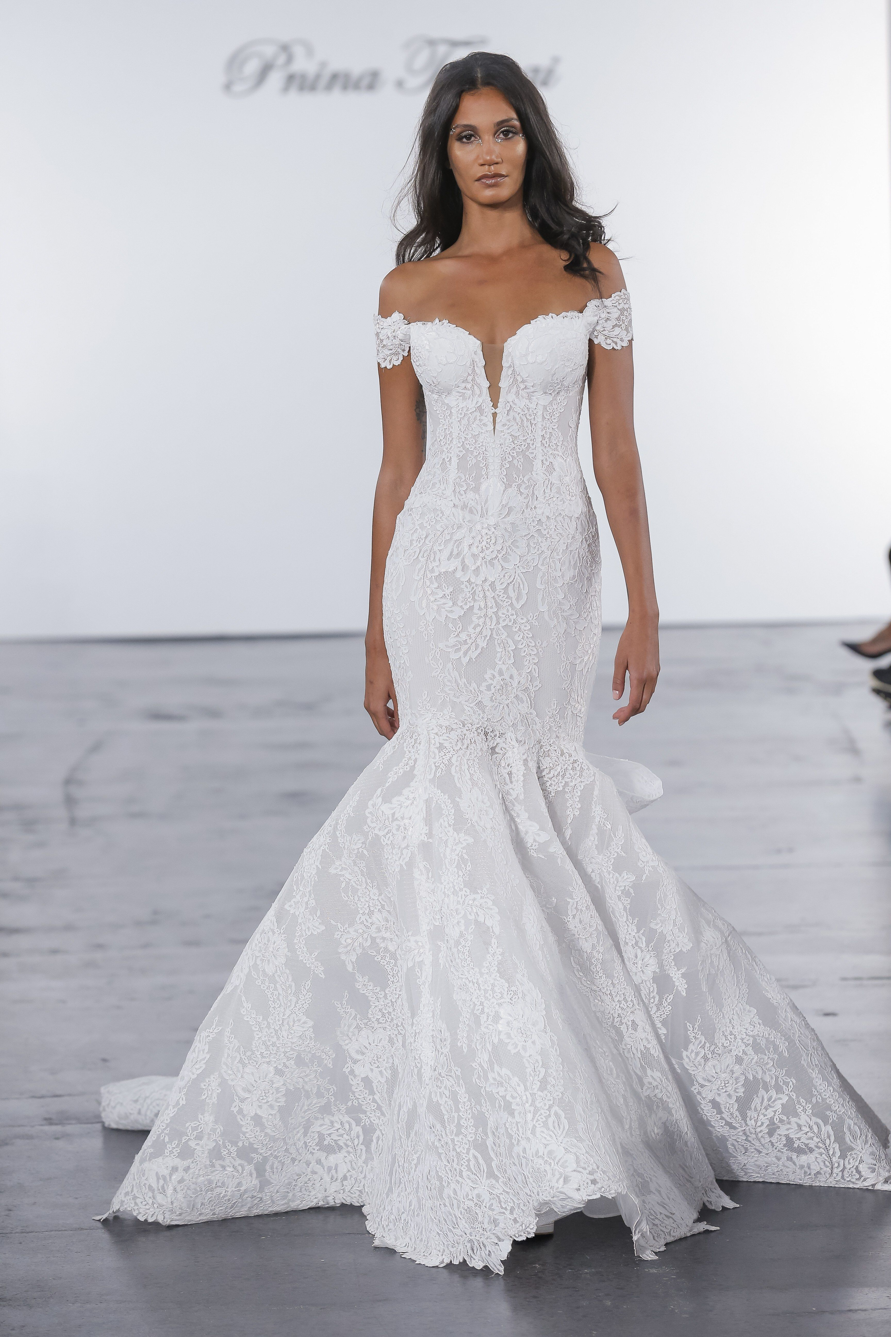 Pnina Tornai For Kleinfeld Bridal Wedding Dress Collection Fall 2018
