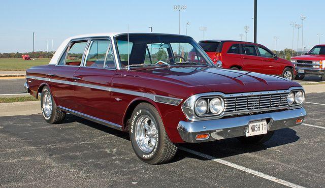 1964 Rambler Classic 770 Sedan (2 of 10) by myoldpostcards, via Flickr