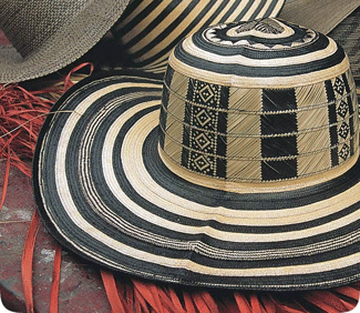 Artesanias Colombianas Abril 2011 Sombrero Vueltiao Traje Tradicional Colombia