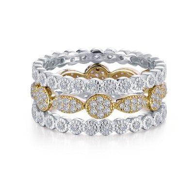 43dd70f051013 Lafonn signature Lassaire simulated diamonds in sterling silver ...