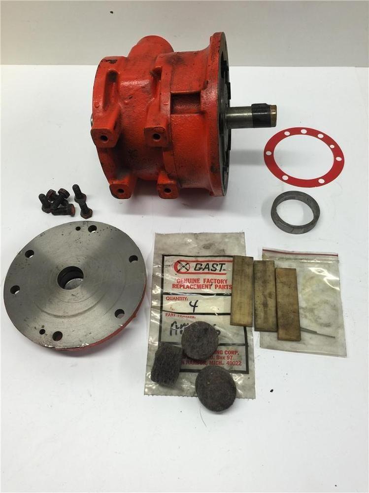 Globe Gast Style Va8c Industrial Heavy Duty Pneumatic Air Motor Parts Lot Motor Parts Motor Parts