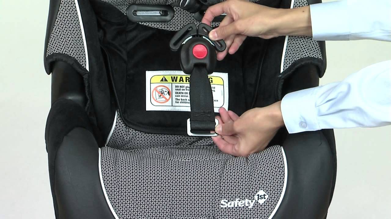 How to Rethread Your Safety 1st Alpha Omega Harness (With