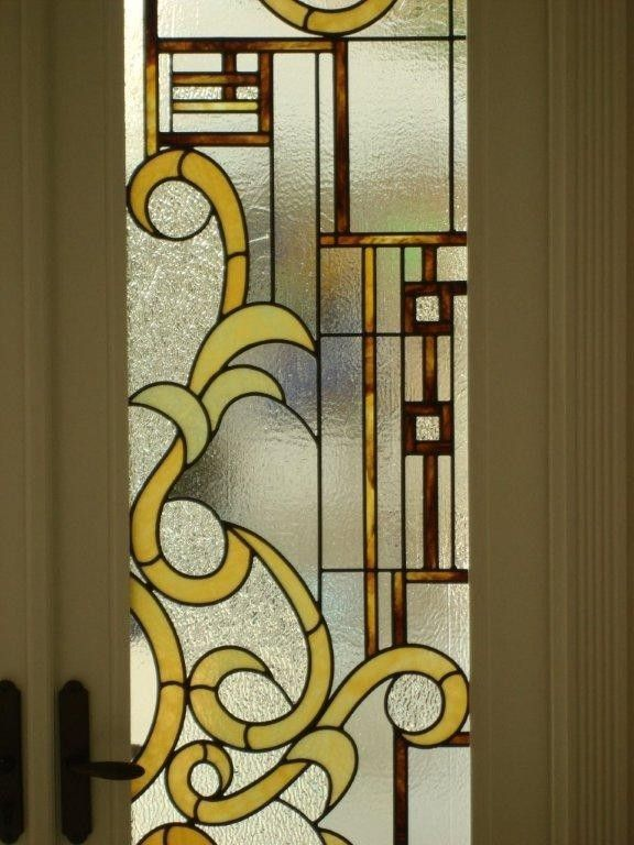 Custom Made Stained Glass Entry Doors And Cabana Doors Projects