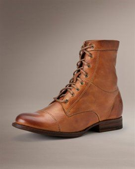 Erin Work Boot from Frye... This boot reminds me of the lace-