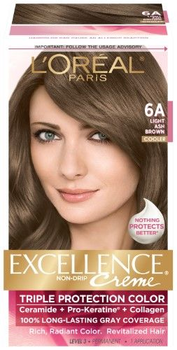 Loreal Excellence Natural Light Golden Brown 630 Pack Of 4 You Can Find Out More Details At The L Dark Brown Hair Dye Brown Hair Dye Loreal Paris Hair Color
