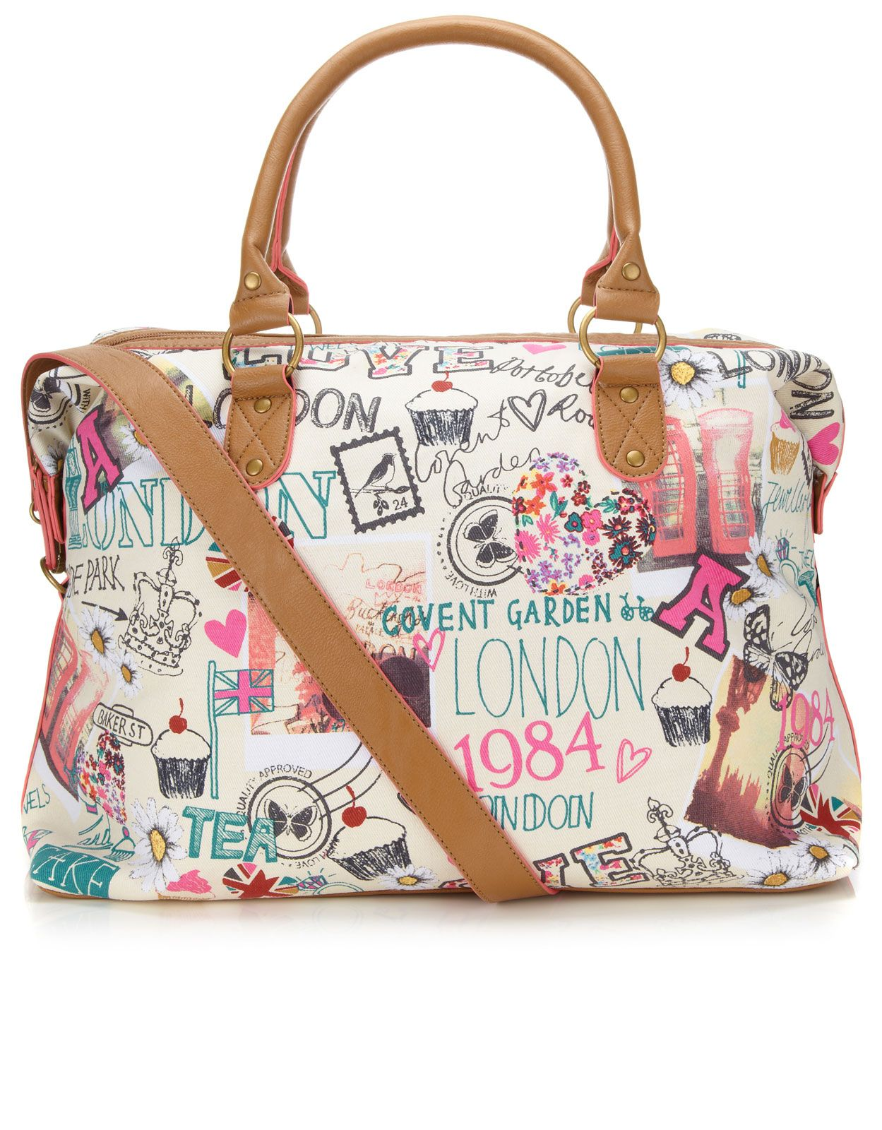 London Sights Weekender | Multi | Accessorize | Cute Products ...