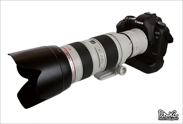 Canon 5d Mark Ii With 70 200mm F 2 8 And Canon 2x Extender Digital Camera Camera Accessories Canon Zoom Lens