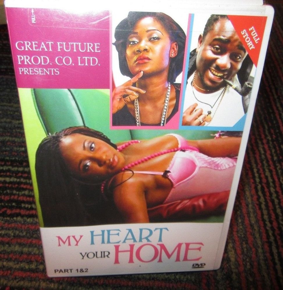 my heart your home part 1 2 dvd movie filmed in nigeria romance rh pinterest com