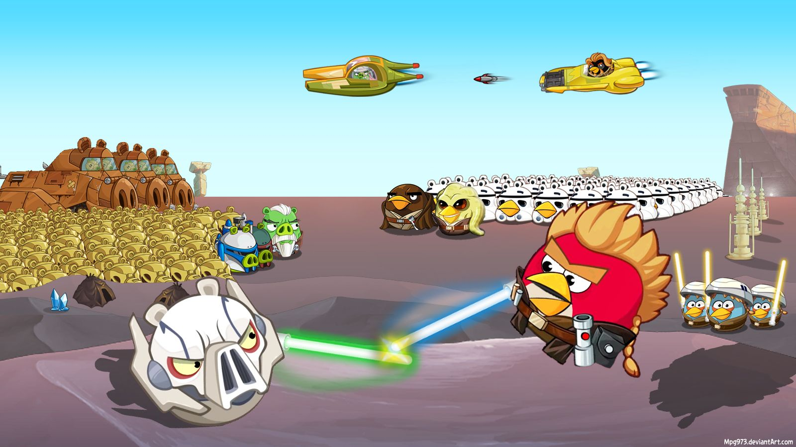 A Few Minutes To Attack All The Warriors Are Ready Master Mace