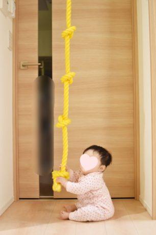 綱登りロープをdiy設置して自宅で気軽にトレーニング ボルダリング