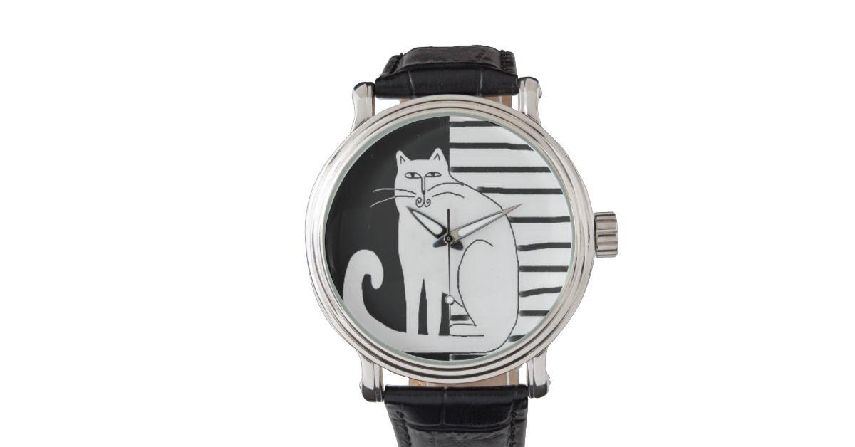 pinturas de gatos blanco y negro - Buscar con Google