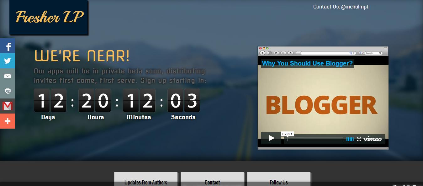 Template Blogspot Landing Page. 40 best free premium bootstrap ...