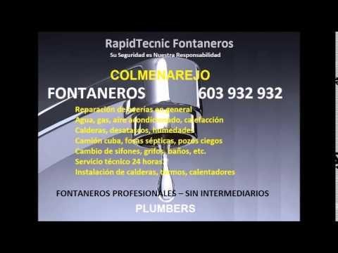 Fontaneros COLMENAREJO 603 932 932