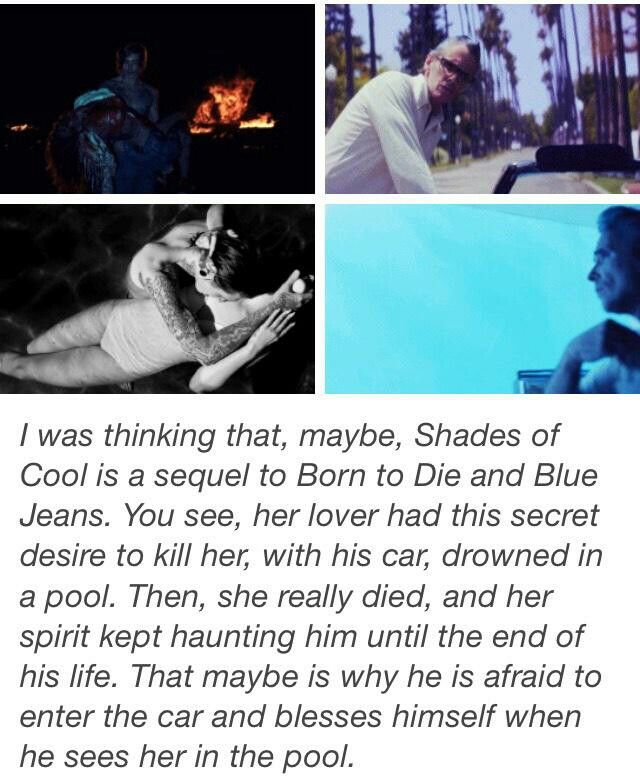 Fan theory about Lana Del Rey\'s \'Shades of Cool\' music video #LDR ...