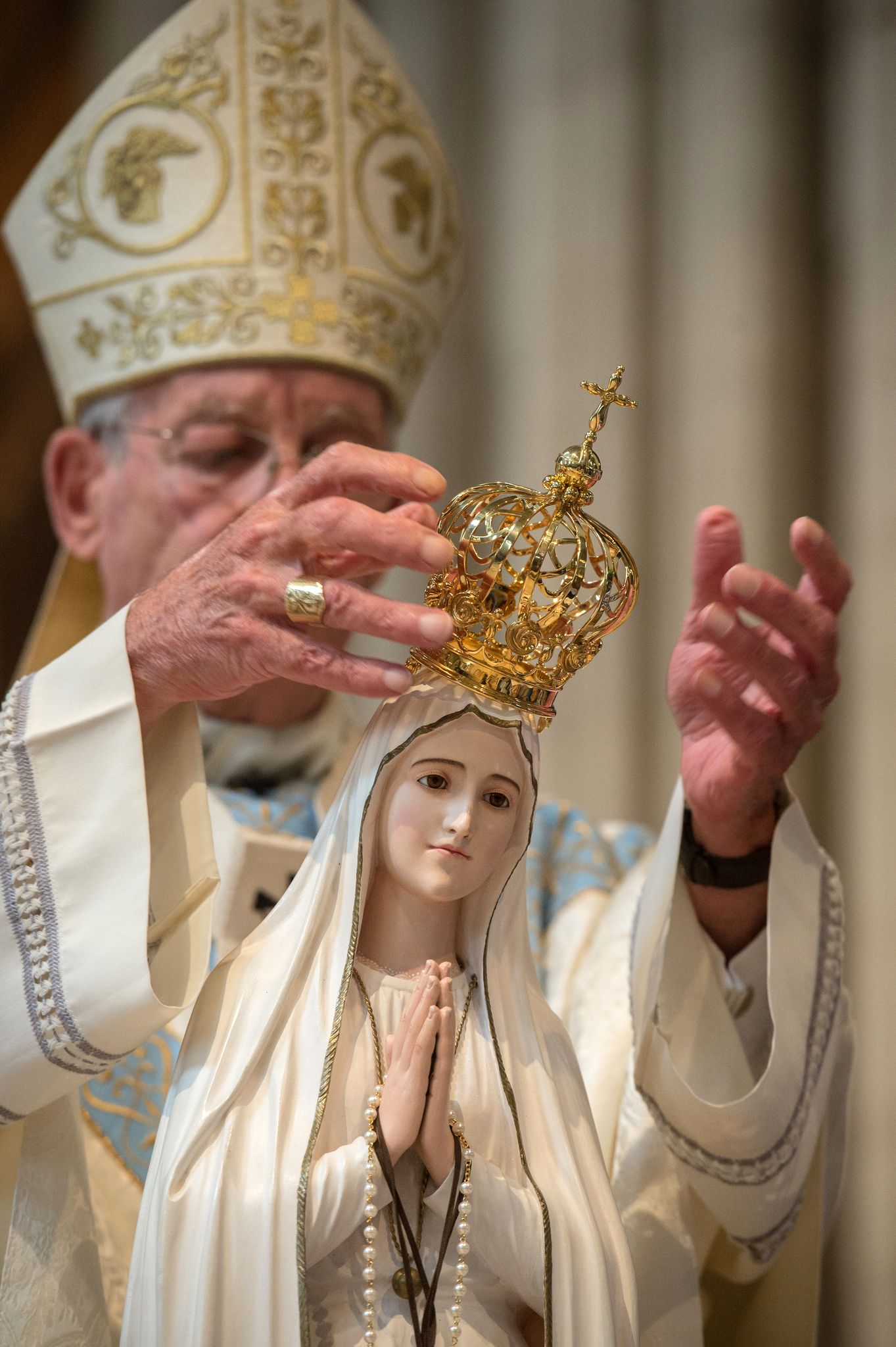 Visit And Crowning Of National Pilgrim Virgin Statue Of Our Lady