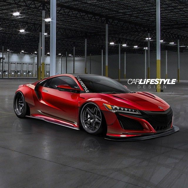 Widebody NSX • Design By @gabe_carlifestyle @Carlifestyle