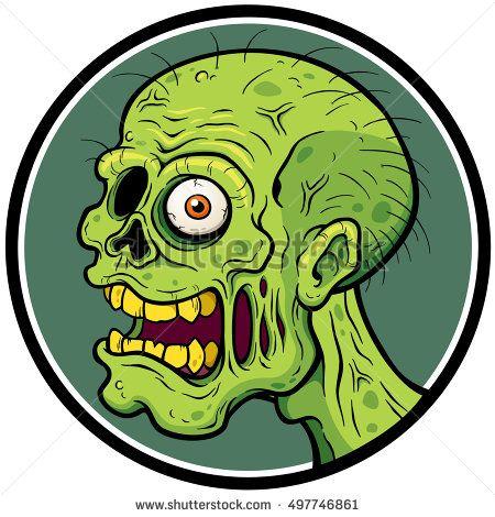 Cartoon Zombie Head Graffiti Cartoons Zombie Drawings Graffiti Characters