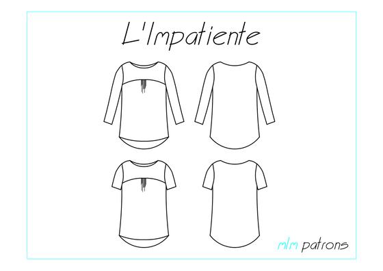 Image of Patron PDF L\'Impatiente   Couture   Pinterest