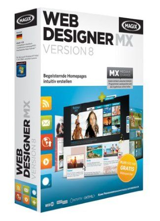 Magix Web Designer 8 Mx Web Design Web Development Design Web Design Tips