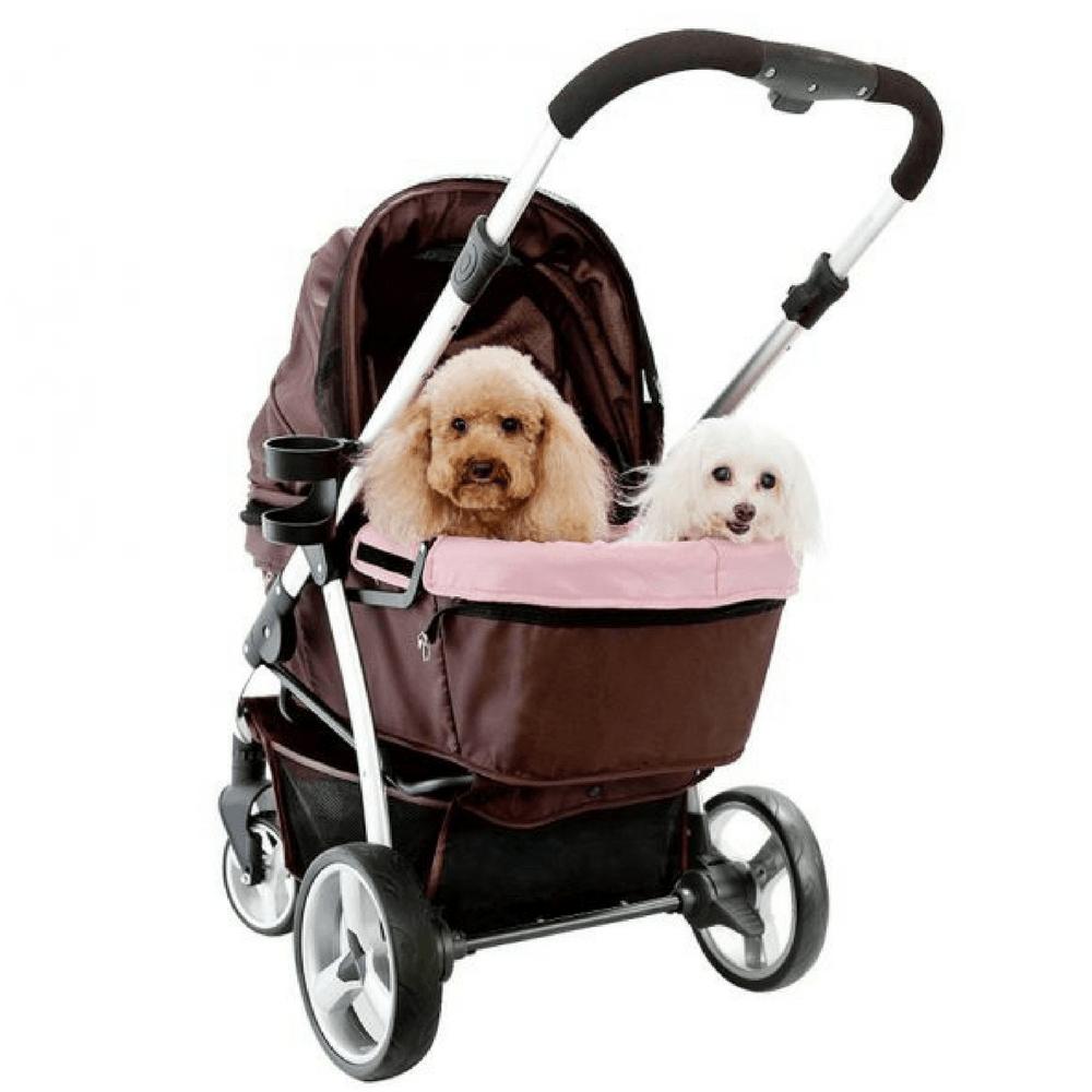 Ibiyaya Retro Buggy Pet Stroller by Innopet, Large Dog