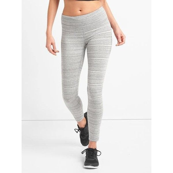 Gap Women Gfast Performance Cotton Leggings 45 Liked On Polyvore Featuring Activewear Activewear Pants Active Wear Pants Cotton Leggings Clothes Design