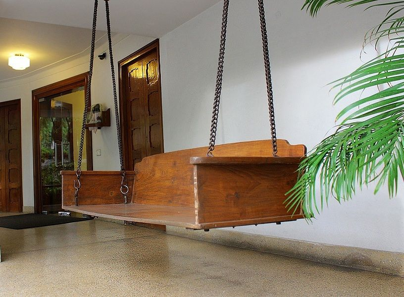 Sarangi Oonjal Joola Indian Swing Wooden On Www