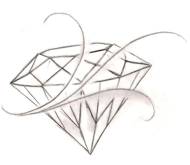 Diamond Tattoo by ~Metacharis on deviantART | Tattoos and ...