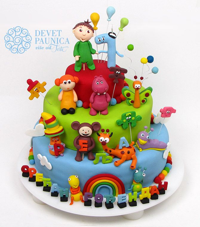 Popular Baby Tv Cartoon Characters Are Always Good Choice For 1st