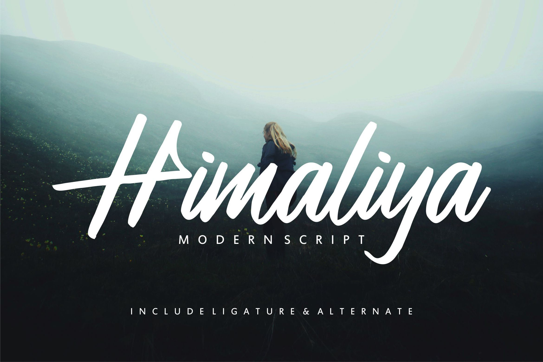 Download Download Himaliya | Handwritting Script Font today! We ...