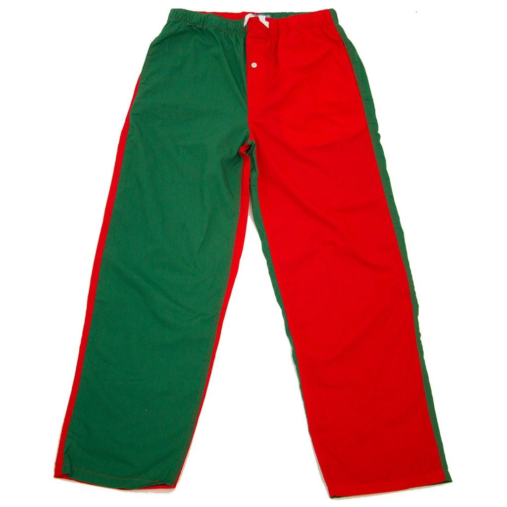 Red And Green Pants
