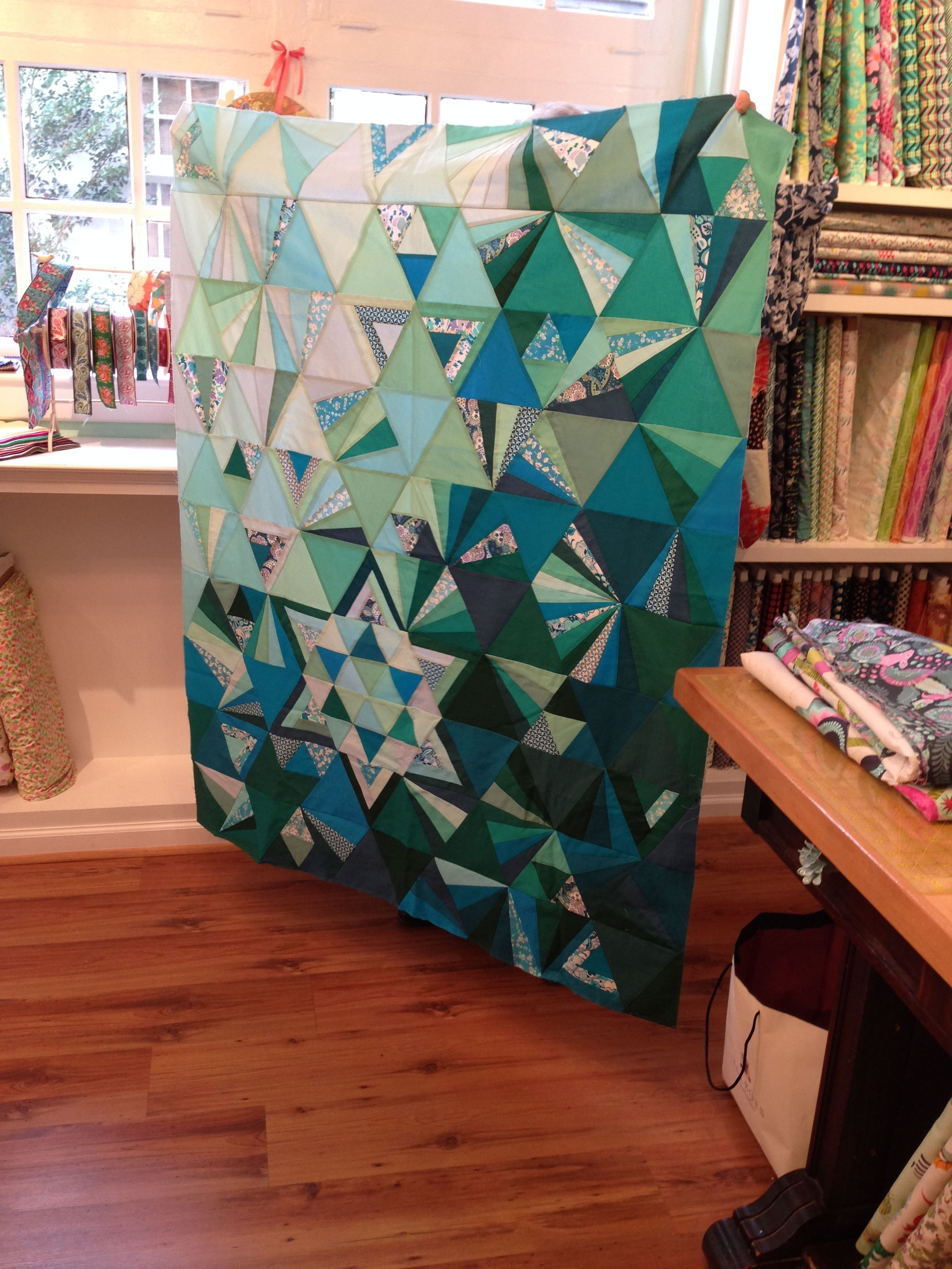 tessellation quilt pattern alison glass - Google Search | quilt ... : tessellation quilt - Adamdwight.com