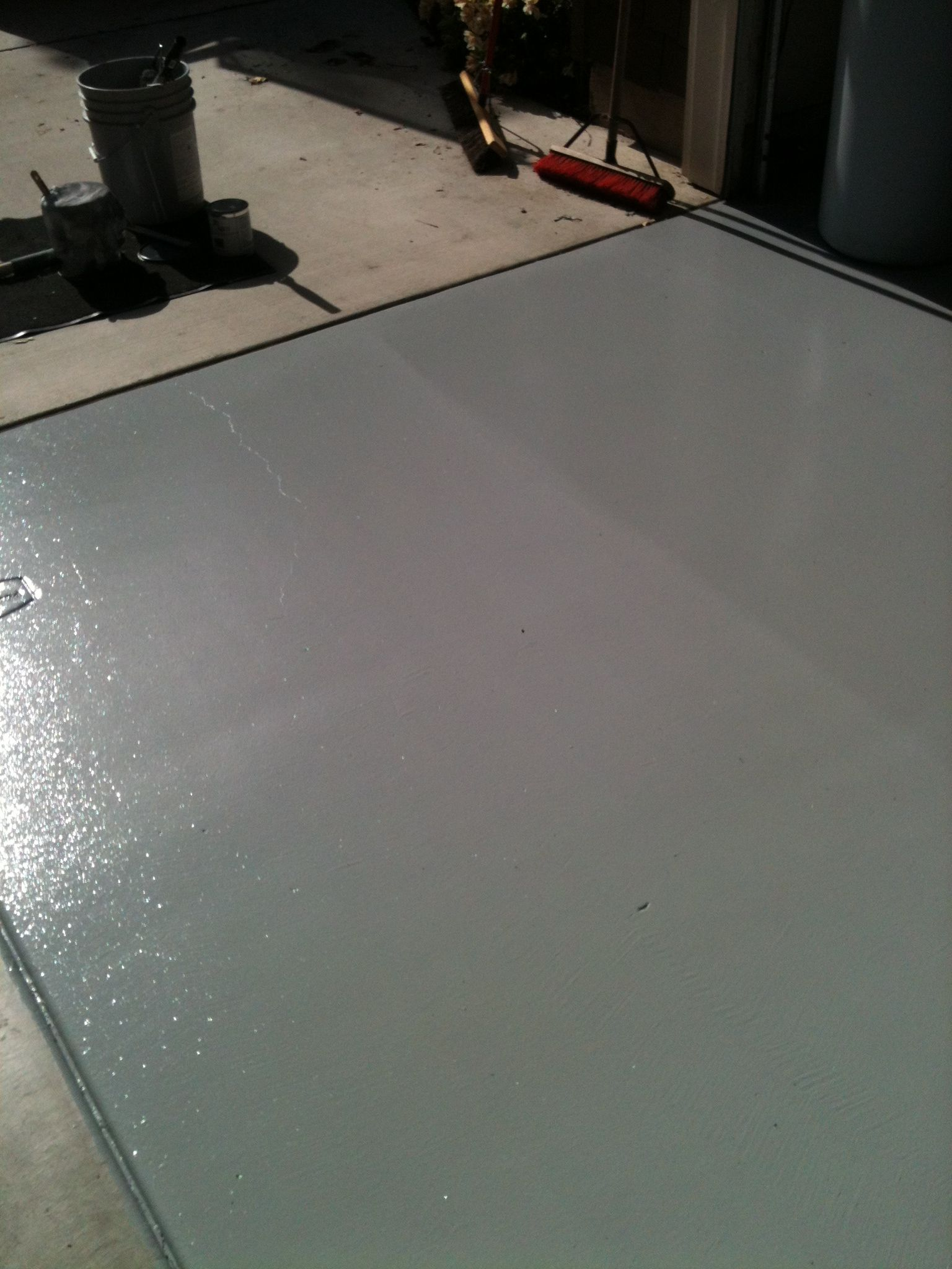 2 Part Water Based Garage Floor Epoxy Sherwin Williams Product 68 00 Per Kit Home Decor Paint Colors Decor