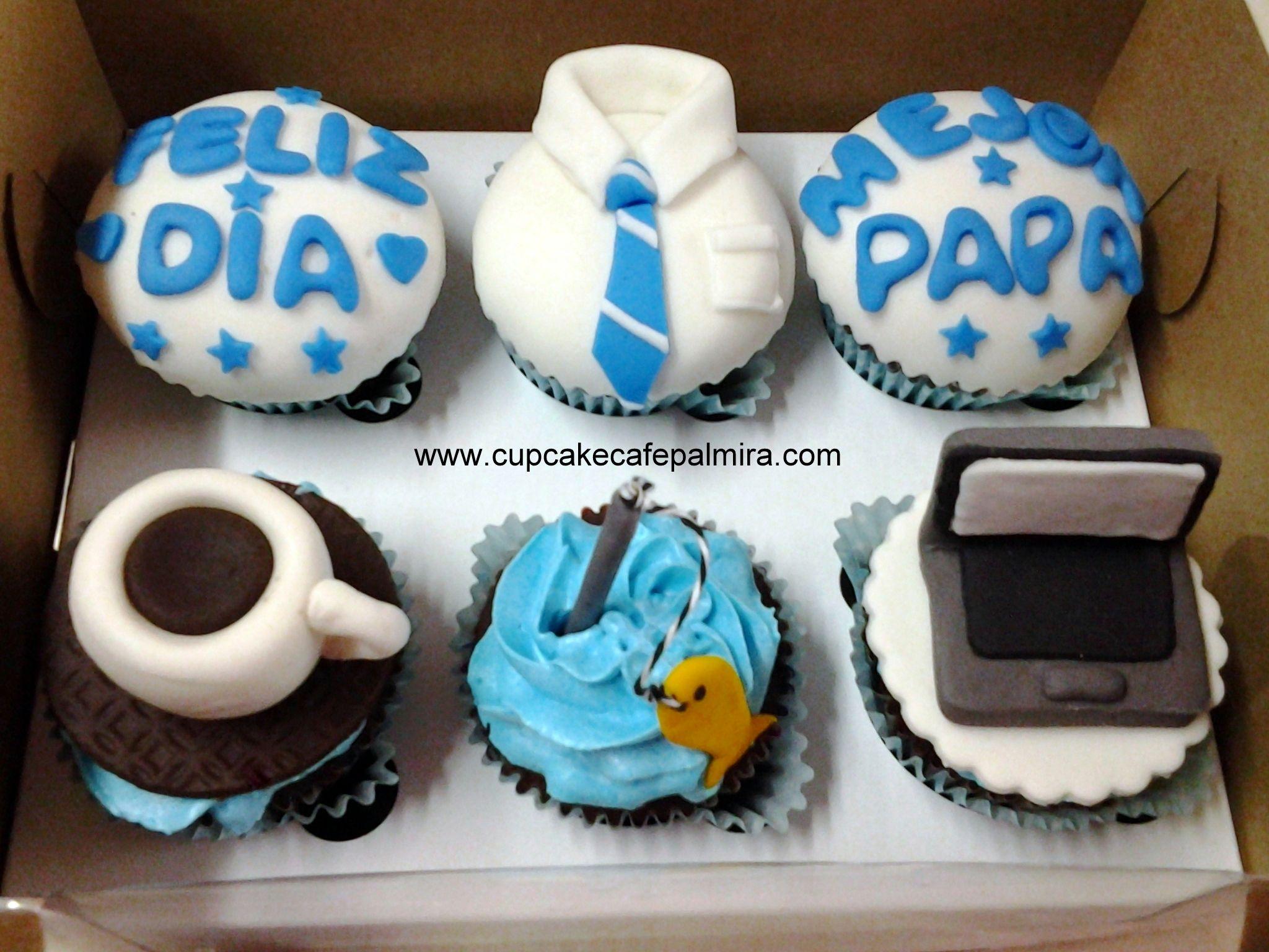 father 39 s day cupcakes father 39 s day cupcakes in 2018. Black Bedroom Furniture Sets. Home Design Ideas