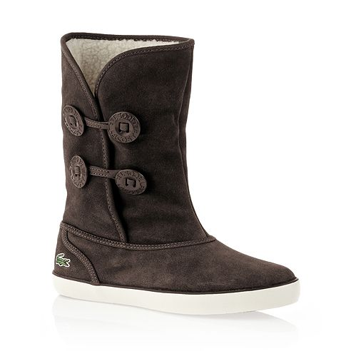 Lacoste boot brown | Boots, Winter