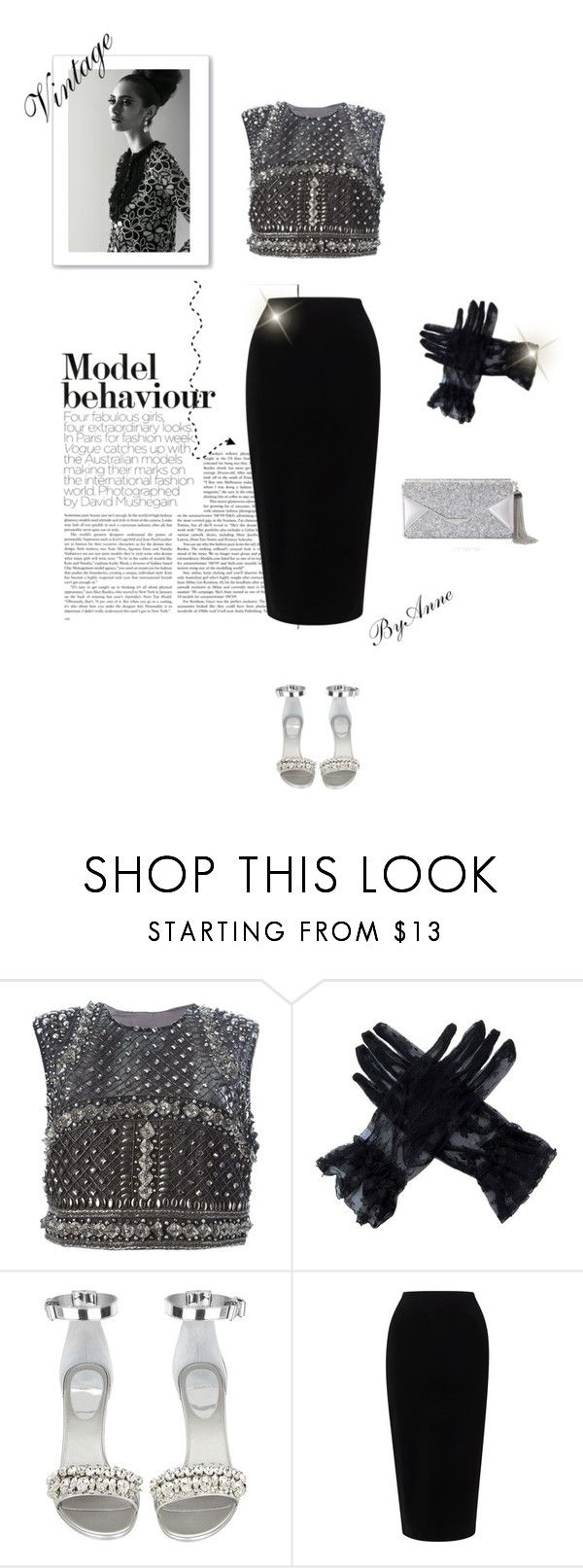 """Vintage Model"" by anne-977 ❤ liked on Polyvore featuring Alberta Ferretti, Givenchy, Tome, BCBGMAXAZRIA, vintage, VintageInspired, AlbertaFerretti and 2016"