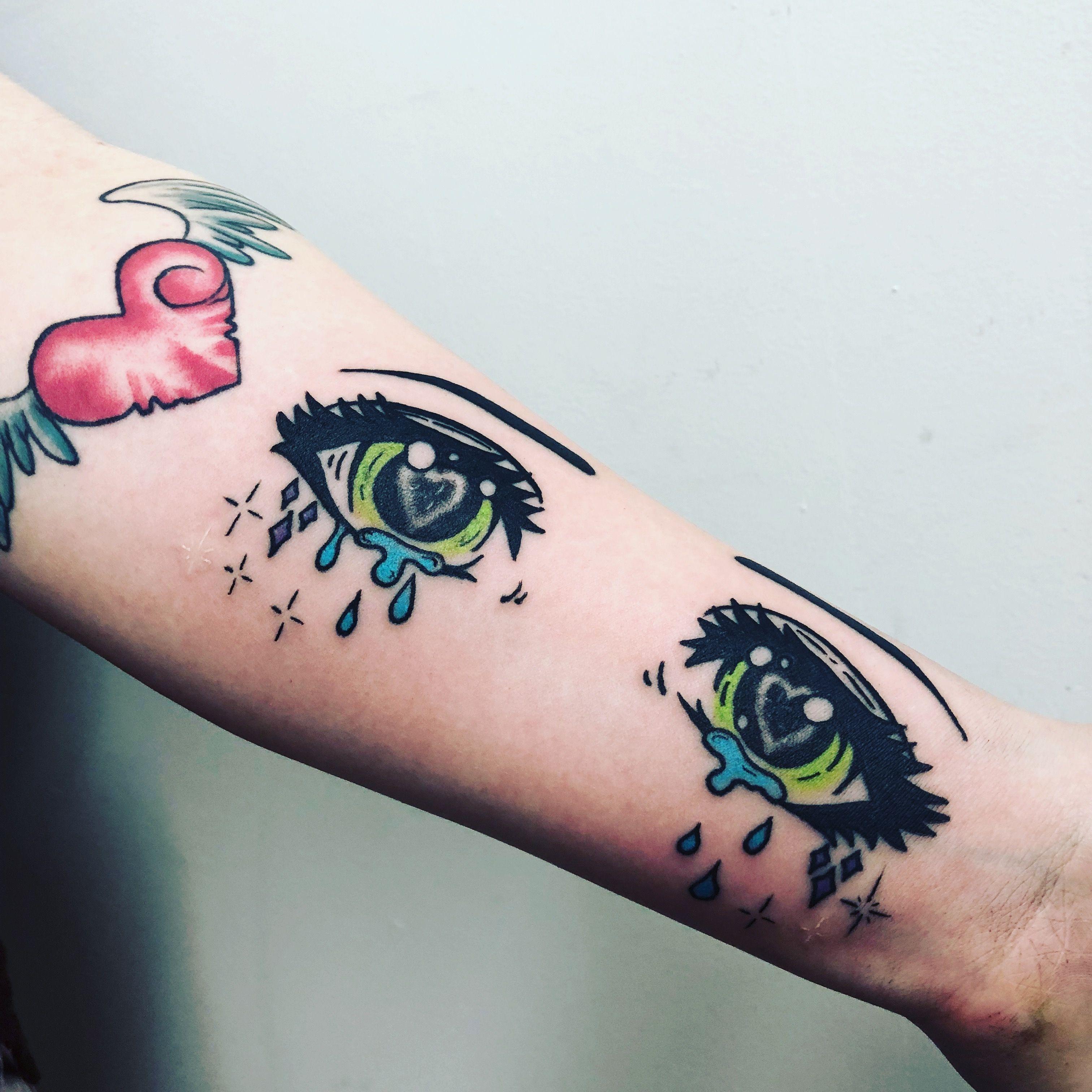 Lilxbby 🕊♡ ・゚ Anime tattoos, Kawaii tattoo, Eye tattoo