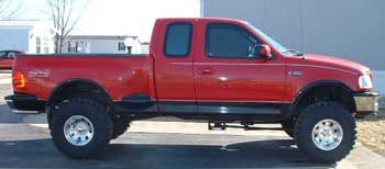 1997 f150 5 4l 4x4 ext cab, offroad, stepside with fabtech 6 1999 Ford F-150 Custom 1997 f150 5 4l 4x4 ext cab, offroad, stepside with fabtech 6\