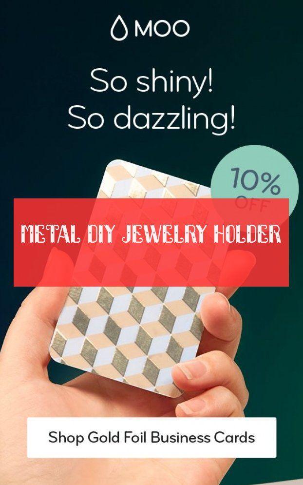 Metal diy jewelry holder