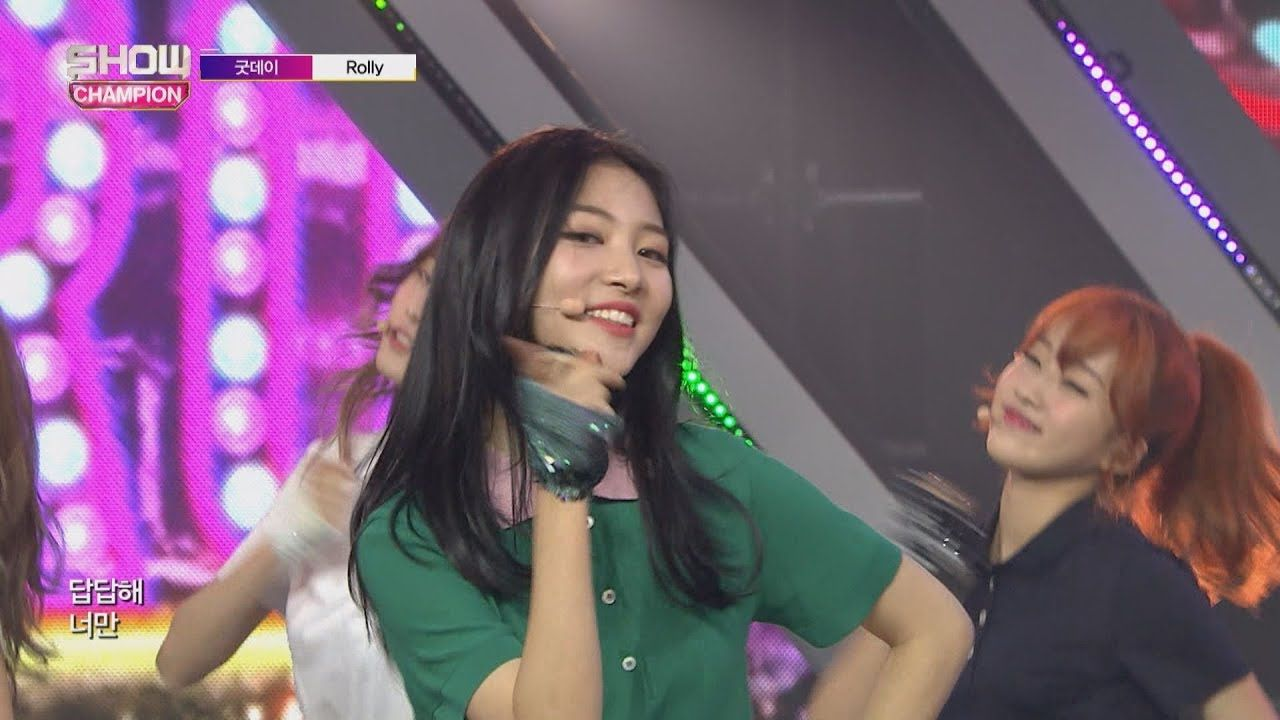 Show Champion EP.244 GOODDAY - Rolly [굿데이 - 롤리] - YouTube
