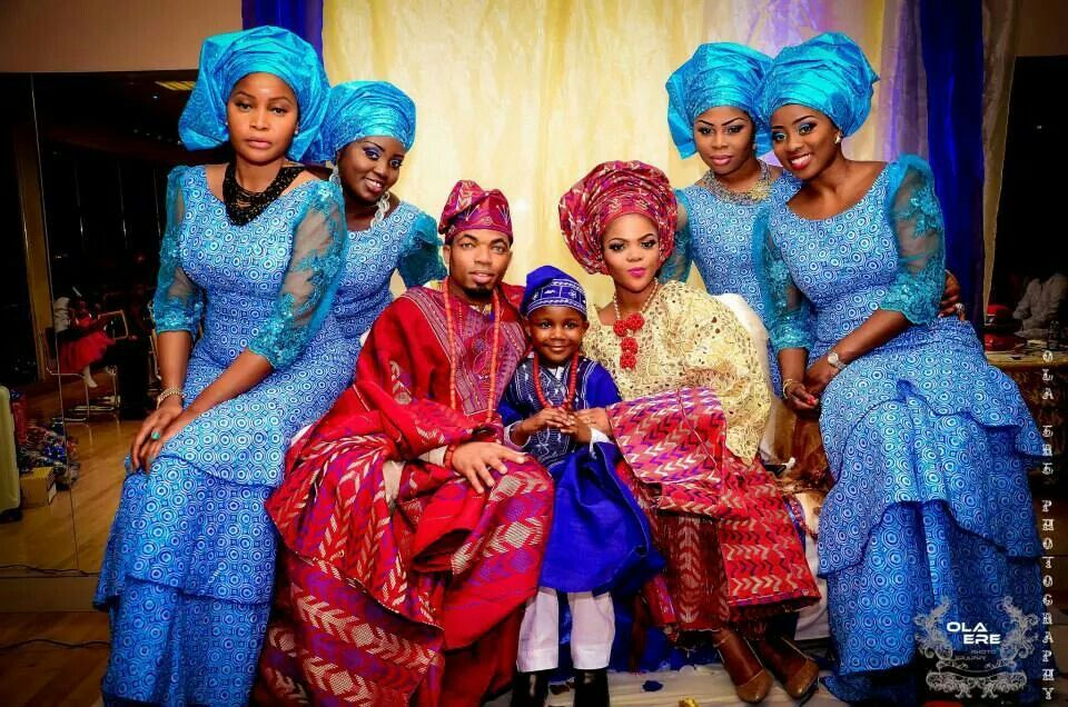 I found this traditional African wedding foto on my