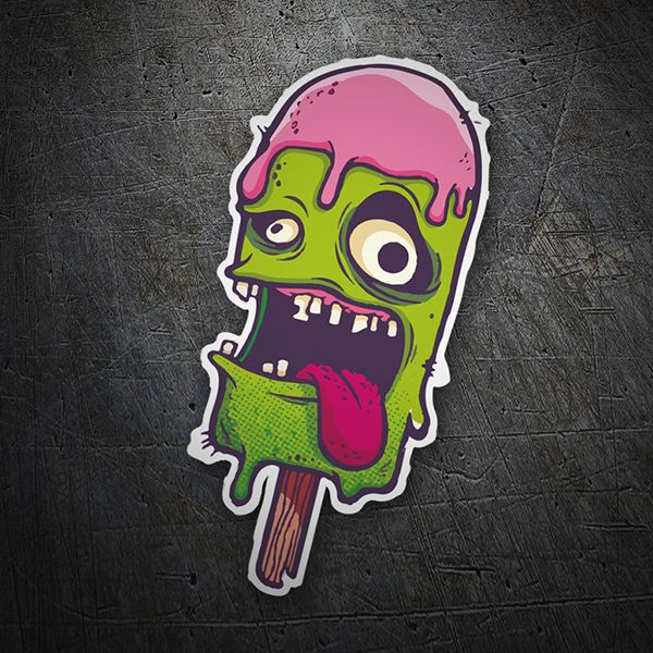 Pegatinas monster ice cream coche pegatina sticker throw up pinterest graffiti doodles and illustrations