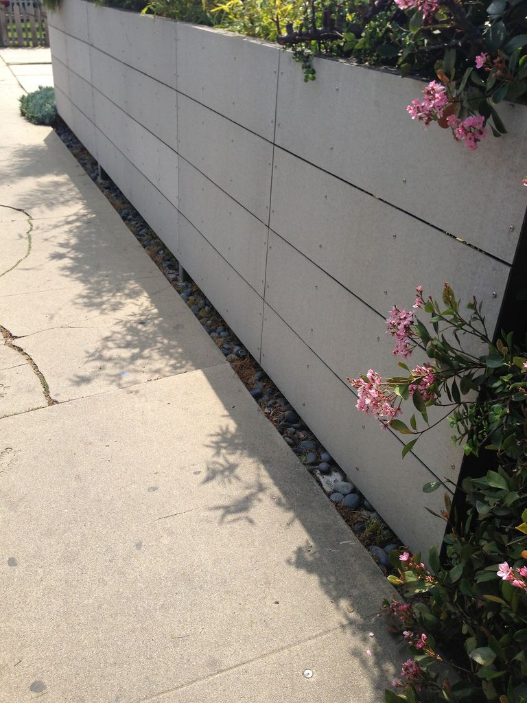 Beethoven L A Fence 2 Concrete Fence Wall Fence Fiber Cement Board