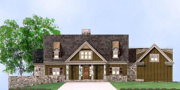 Hartwell | Empty Nester House Plans | Luxury House Plans | Plan ...