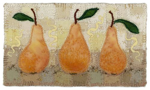 https://flic.kr/p/rP4v9 | Pears | SOLD. Private collection, Vancouver BC.  www.chursinoff.com/kirsten/