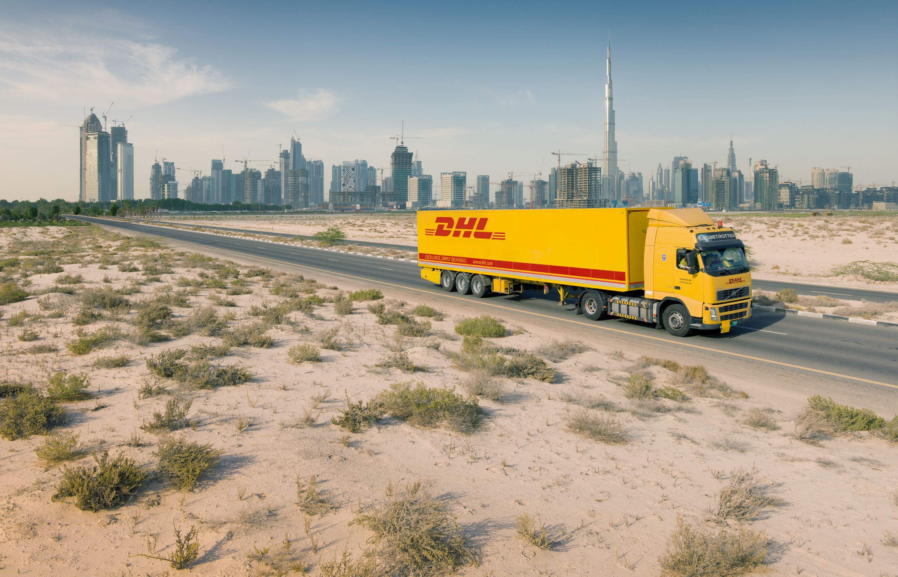 DHL is present in over 220 countries and territories across the globe