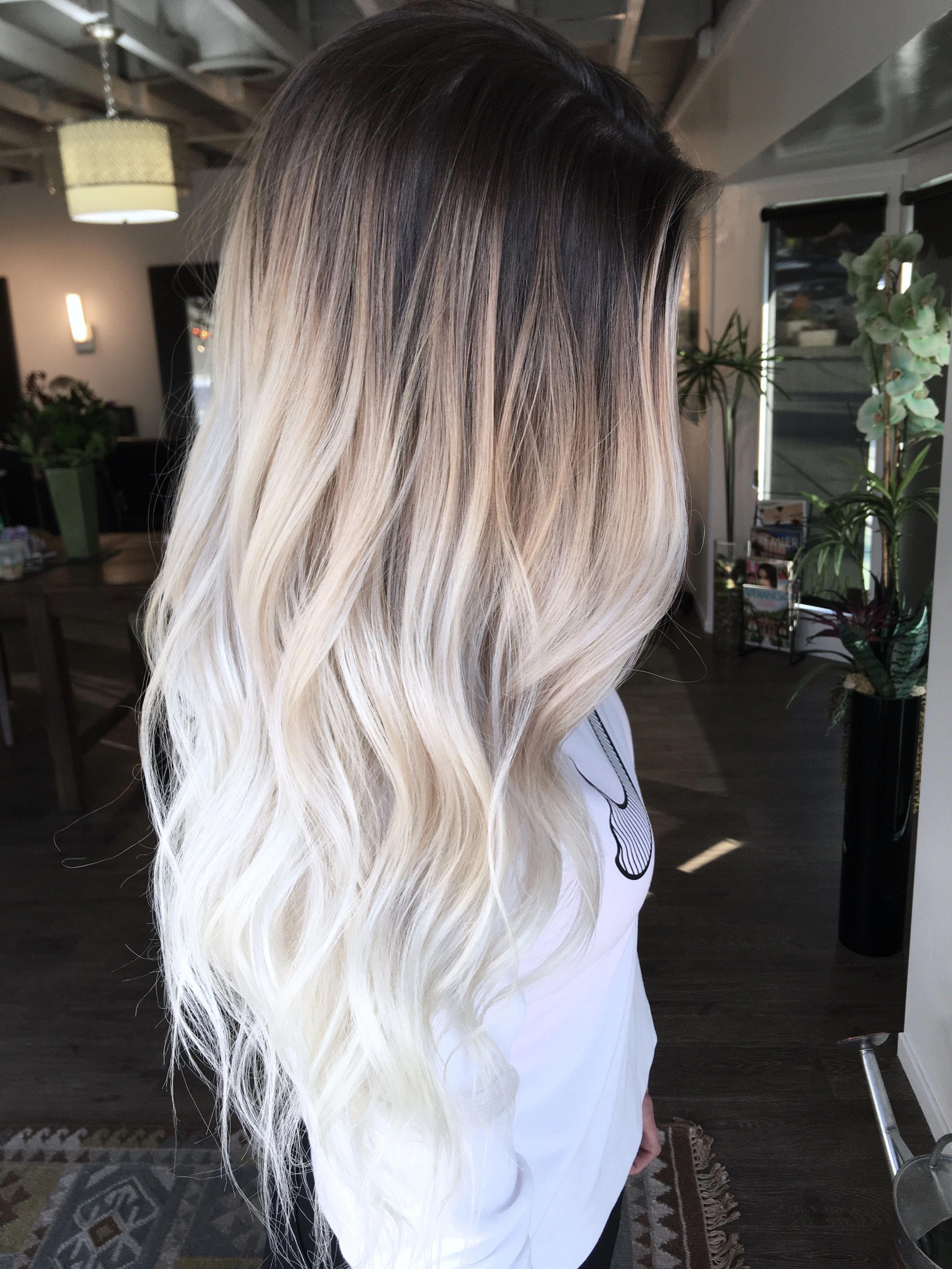 This Is Beautiful Balayagehairblonde Hair Styles Dark Brown Hair Ombre Hair