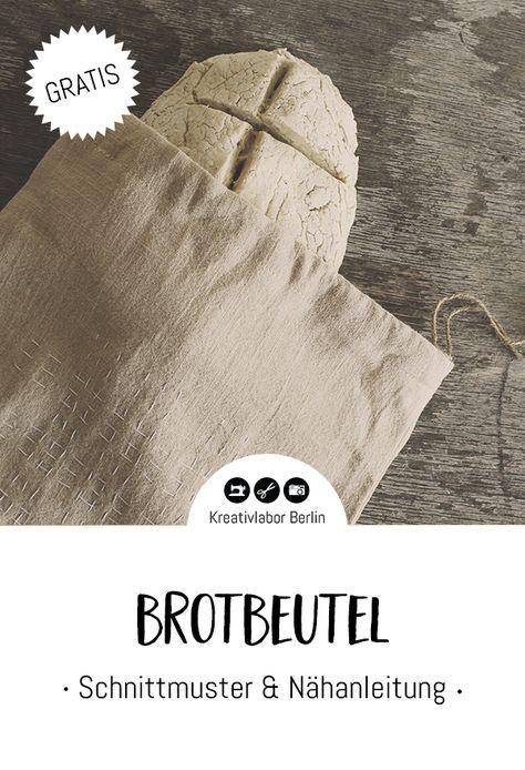 Photo of Nähanleitung: Brottasche / Tüte mit Kordel – Kreativlabor Berlin