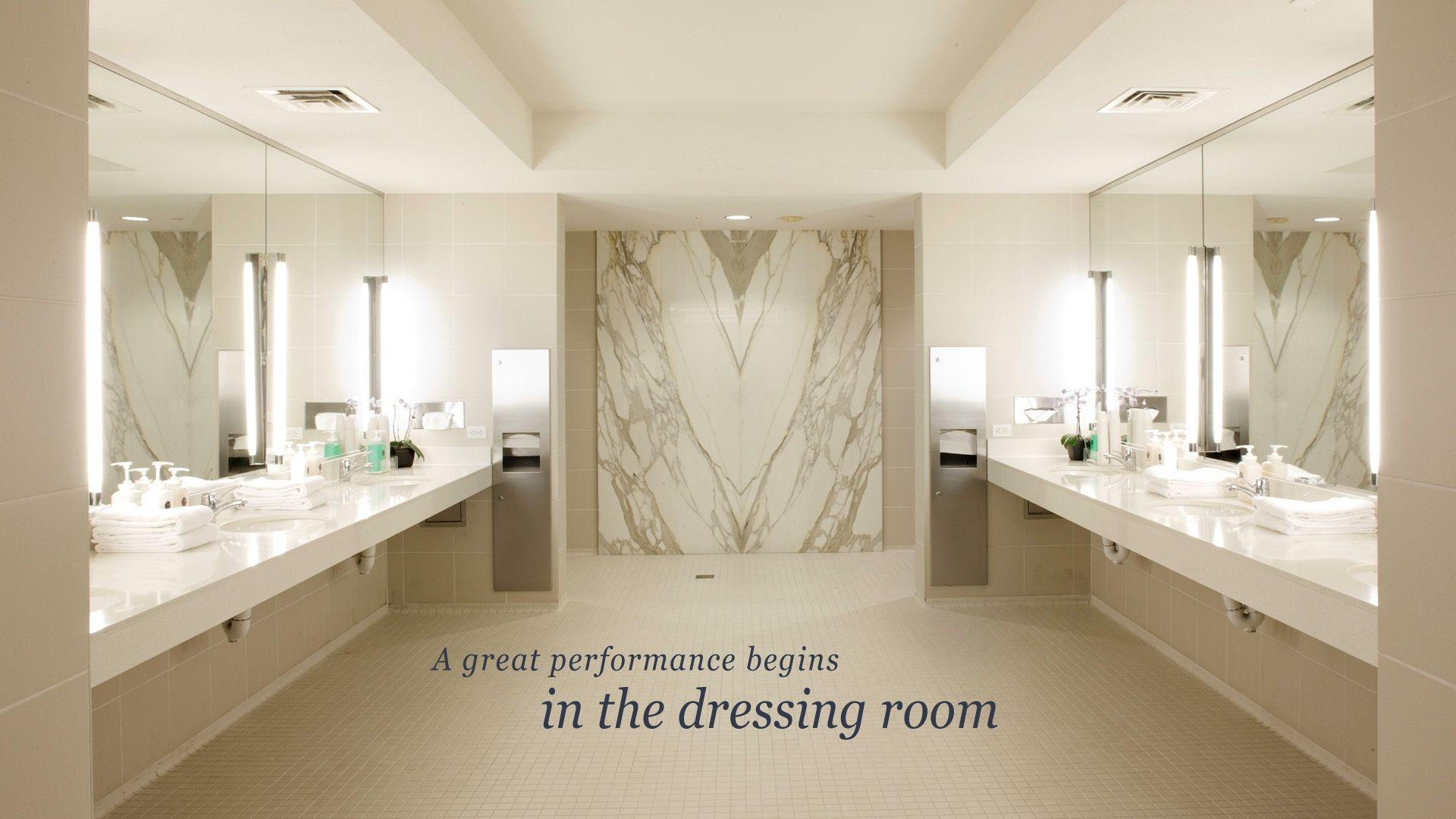 Bay club san francisco women 39 s locker room vanity area - Bathroom vanities san francisco area ...